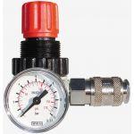 Redutor Pressão 1/4 Manometro E Engate Rápido RP182R - 359166