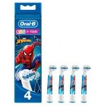 Oral B Cabeças de Reposição Stages Power Kids Spiderman 4un