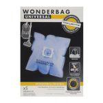 Conjunto 5 wonderbags sacos universais ant.-bact. -wb406120