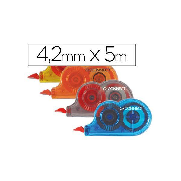 Q-Connect 28 un. Corretores de Fita Mini 4,2mmx5m - KF27028