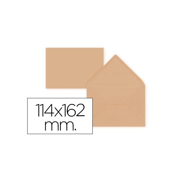 LiderPapel 15 un. Envelopes C6 114x162mm 80g Orange - SO49