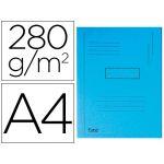 Exacompta Classificador Cartolina Reciclada A4 280g/m2 Blue - 445006E
