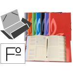Liderpapel Pasta Classificadora Folio c/ Elásticos Cores Sortidas - CG59