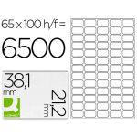 Q-Connect 100 un. Fls Etiquetas Adesivas 38,1x21,2mm - KF00573