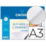 Canson Papel Aguarela Din-A3 Basik 370g 6 Fls - 200402393