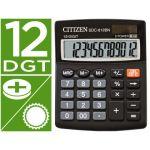 Citizen Calculadora de Secretária SDC-812BN Eco