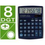 Citizen Calculadora de Secretária CDC-80 Metal Blue - 8 Digitos