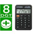 Citizen Calculadora de Bolso LC-110 Black - 8 Dígitos