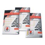 4Office Etiquetas Adesivas Permanentes 25x50