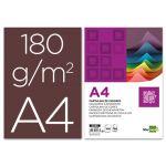 LiderPapel 100 un. Fls Cartolina A4 180g Castanho - CT18