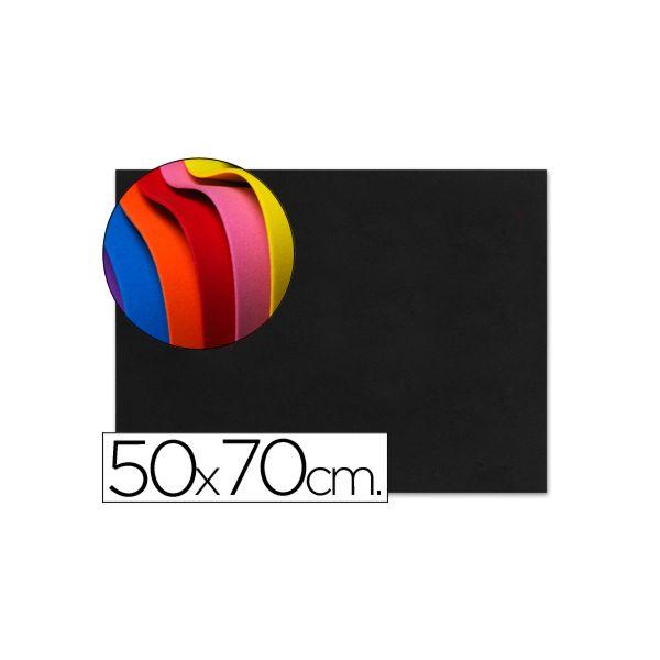 LiderPapel Placa E.V.A. Musgami 50x70cm 1,5mm Preto - GE57