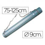 Sparkle Tubo Porta-desenhos Plástico 75x125cm Grey - 1411021