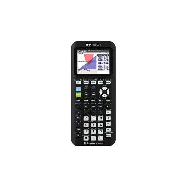 Texas Instruments Calculadora Gráfica TI-84 Plus CE-T