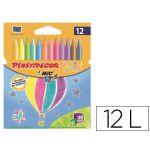 Bic Caixa 12 Lápis de Cera Plastidecor - E5432C