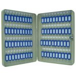 Q-Connect Armário Metálico p/ Porta-chaves 28x37x6cm - KF-04274