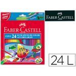 Faber-Castell 24 un. Lápis de Cor Aquareláveis Ecolápis - 120224