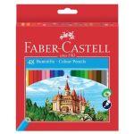 Faber-Castell Pack 48 Lápis de Cor Hexagonais - 120148
