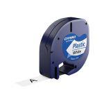 Dymo Fita LetraTag 12mmx4mm White - S0721610
