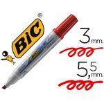 Bic 12 un. Marcadores p/ Quadro Branco Velleda Vermelho - NB1751-03C