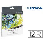 Lyra Caixa 12 Marcadores Aqua Brush Duo - 6521120
