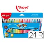 Maped 24 un. Marcadores Color Peps - 845022
