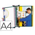 Tarifold Porta-catálogo de Parede DIN A4 c/ 10 Bolsas Cores Sortidas - 76162
