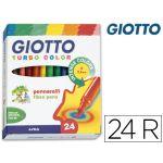 Giotto 24 un. Marcadores Turbo Color - 130417000