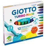 Giotto 12 un. Marcadores Turbo Maxi - 130454000