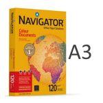 Navigator 4 un. Resmas 500 Fls Papel A3 120g Colour Documents