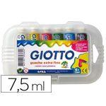 Giotto Caixa 6 Guaches Escolares 7,5ml - 303600