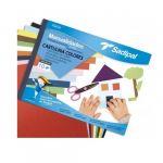 Sadipal Bloco Cartolina A4 10Fls Cores Sortidas - 05980
