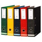 Ancor 10 un. Pastas Arquivo A4 LL Stripes/Red - PF-CST8002SW10