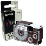 Casio Fita de Gravação p/ Etiquetadora 12mm White/Black - CASXR-12WE1