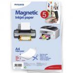 Miniland Papel Magnético A4 p/ Impressora 5un - 95009