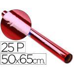 Sadipal Rolo de Papel Celofane 50x65cm Vermelho - 22338