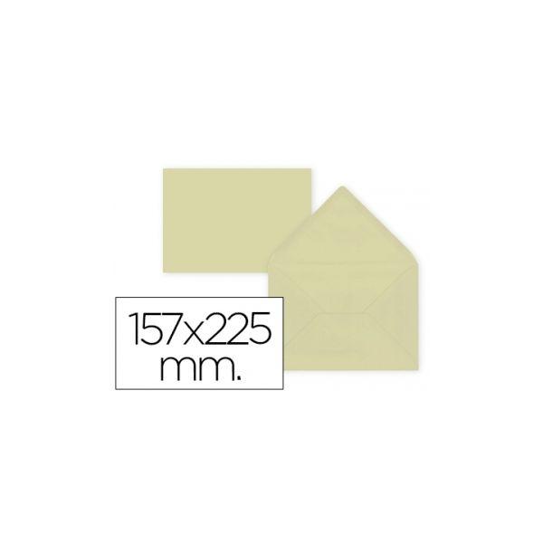 Liderpapel Envelope C5-EA5 Creme 157X225MM 80g 9 un. - SO71