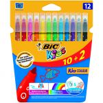 Bic 25 un. Expositores 12 Marcadores Ultrawashable Couleur Markers - 920294