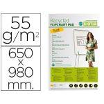 Bi-Office Bloco papel congresso reciclado 55g 650X980mm - FL0311803