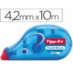 Bic 10 un. Fita Corretora Tipp-ex Fita -pocket Mouse 4,2 mm X 9 M. - 0070330510364