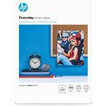 HP 100 un. Fls Papel Fotográfico A4 Everyday Brilhante 200g Branco - Q2510AX2