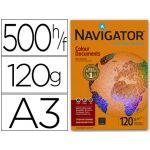 Navigator Colour Documents Papel Multiusos p/ Laser e Jacto de Tinta A3 120 G/m² Branco 500 Fls ACOP120A3
