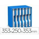 Cep Arquivador Modular 12 Divisórias 353x250x353mm Blue/White - 155/12