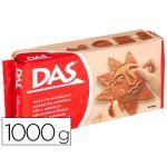 DAS Pasta de Modelar Castanha 1000g - DAS-T1000