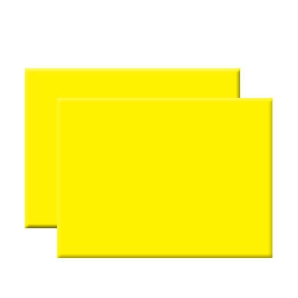 Cartolina 225g 50x65cm Amarelo Fluorescente - 172Z21391