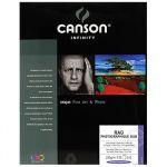 Canson 25 un. Fls Papel Algodão A3 Infinity Rag Photograph Duo 220g