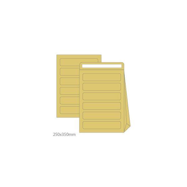 10 un. Envelopes de Correio Interno Kraft 250x350mm - 1611015