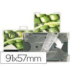 3L Office 10 un. Identificadores Horizontais p/ Cartões de Segurança 91x57mm Rotação Vertical U