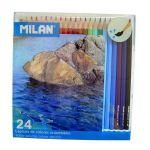 Milan 24 un. Lápis de Cor Aguarela - 80071