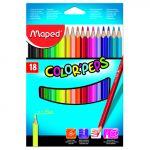 Maped 18 un. Lápis de Cor Color Peps - 3154141832185