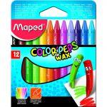 Maped 12 un. Lápis de Cera Color Peps - 3154148610113